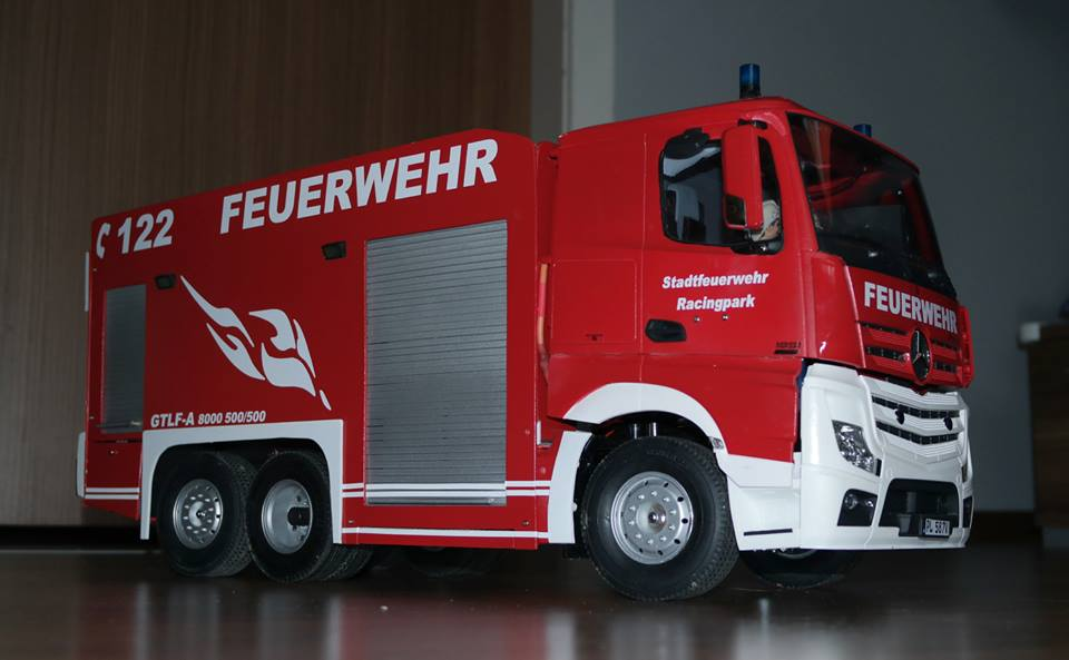 Mein Actros GTLF 8000