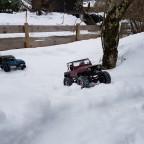 Wrangler im Schnee