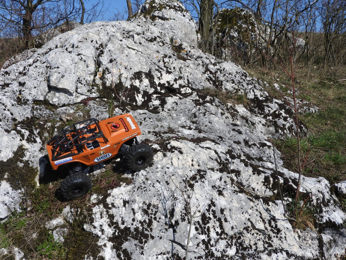 Erste Kletterpartie
