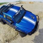 Komodo nach Reifen-. und Lenkungsupgrade