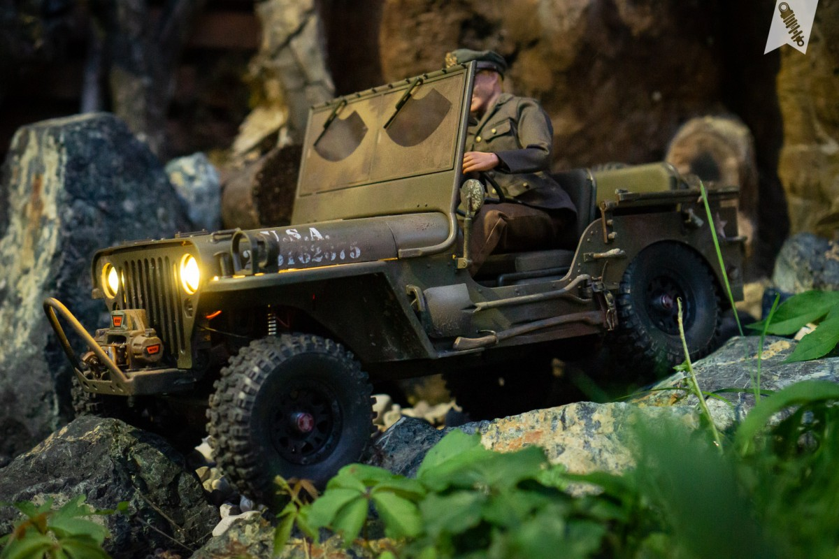 Gery's Jeep Willy - Roc Hobby 1941 MB Scaler