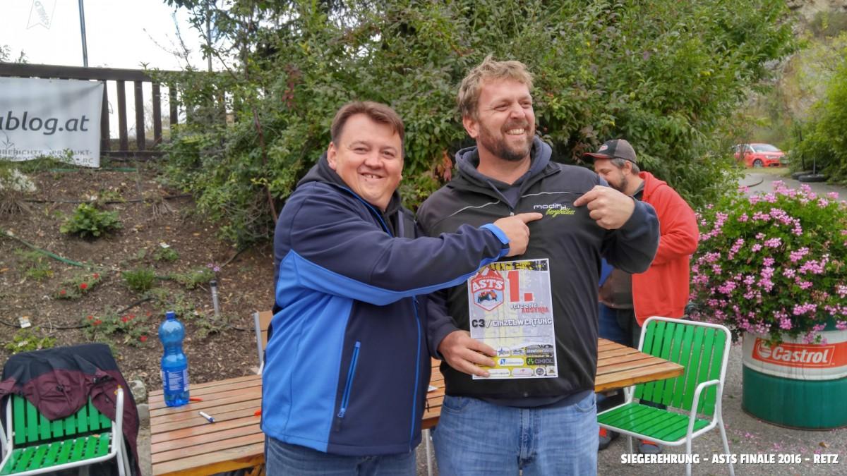 SIEGEREHRUNG - ASTS FINALE 2016 - RETZ