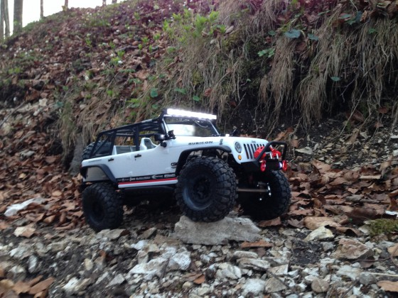 Jeep Rubicon Axial