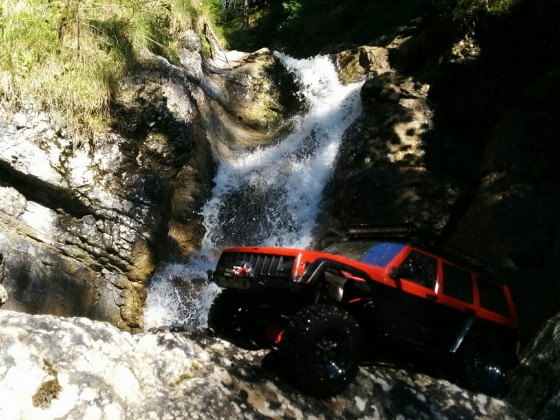 Splash Waterfalls
