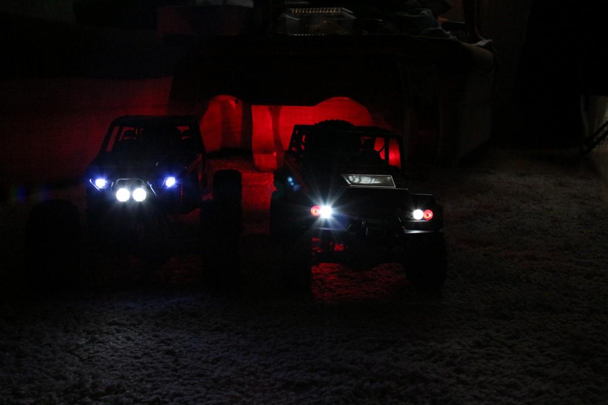 Wraith und Dingo