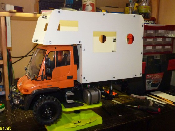 Unimog Expeditionsmobil Tamiya CC-01